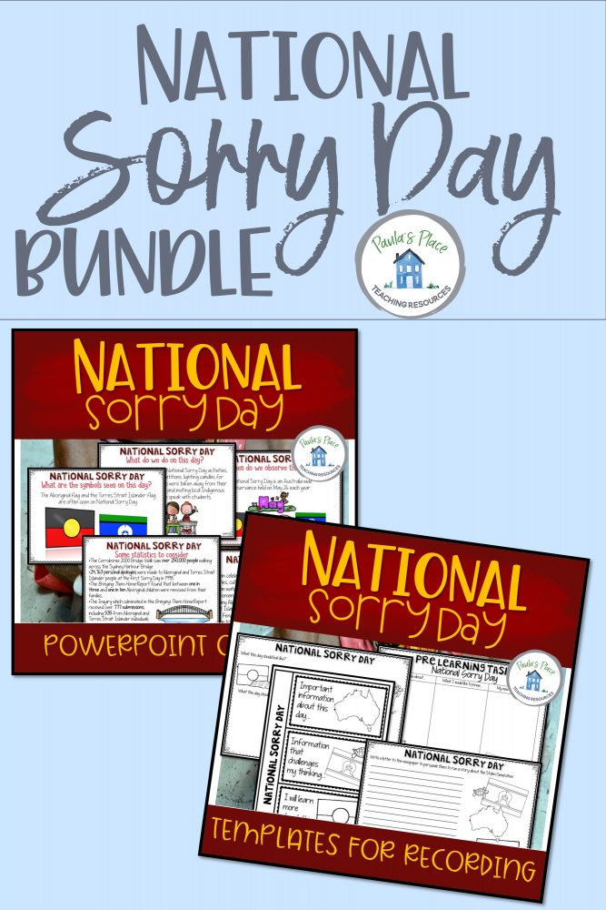 National Sorry Day bundle packs