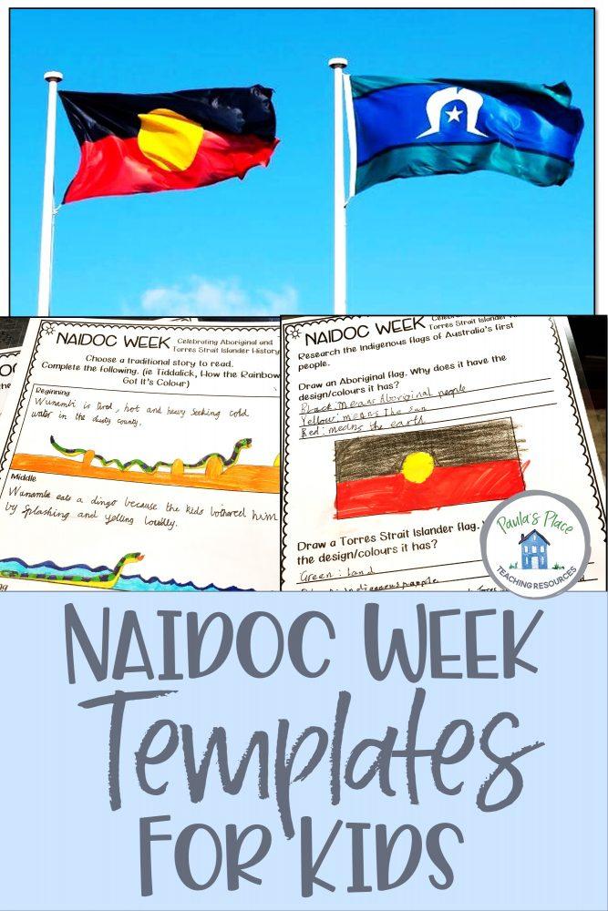 Student samples for NAIDOC Week