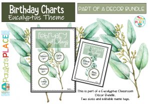 Birthday Charts image